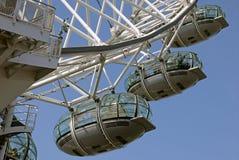 Det London ögat, London UK Royaltyfri Fotografi