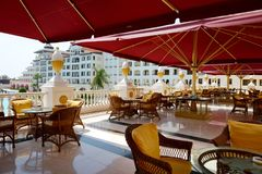 Det lyxiga hotellet för Mardan slott Royaltyfri Bild