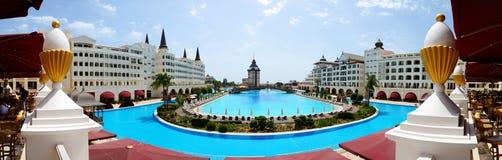 Det lyxiga hotellet för Mardan slott Arkivbild