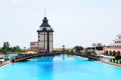 Det lyxiga hotellet för Mardan slott Royaltyfria Foton