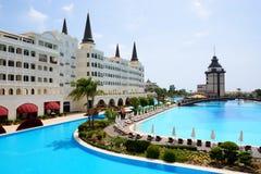 Det lyxiga hotellet för Mardan slott Arkivbilder