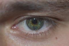 Det mänskliga ögat ser mig Arkivfoto