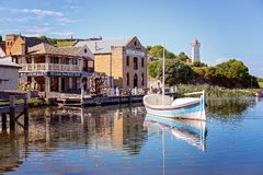 Det Marina At Flagstaff Hill Maritime museet Australien arkivbilder