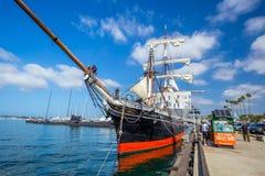 Det maritima museet av San Diego Royaltyfri Bild