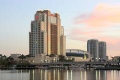 Det Marriott hotellet i Tampa Royaltyfri Bild