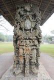 Det Mayan fördärvar av Copan Arkivfoto