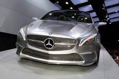 Det Mercedes begreppet utformar coupen Fotografering för Bildbyråer