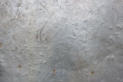 Det metalliska järnet för grunge för tappninggrå färger rostiga Royaltyfri Foto