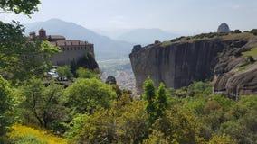 Det Meteora landskapet Fotografering för Bildbyråer