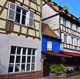 Det minsta huset i Strasbourg Royaltyfri Fotografi