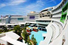 Det moderna lyxiga hotellet Arkivfoton