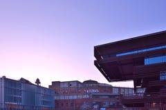 Det moderna nya arkivet av staden av Ghent Arkivfoton