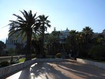Det Monte Carlo Casino, dobbleri- och underh?llningkomplexet i Monte - carlo, Monaco, Skjul de Azul, Europa Det inkluderar en kas arkivbild