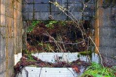 Det murkna huset av berget i Kyoto Royaltyfria Bilder
