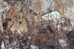 Det murkna och rostade stålet Royaltyfri Foto