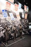 Det nationella medborgerlig rättighetmuseet i Memphis Tennessee Royaltyfri Fotografi
