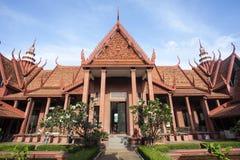 Det nationella museet av Cambodja i Phnom Penh, Cambodja Fotografering för Bildbyråer