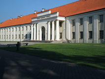Det nationella museet av den Litauen ingången Vilnius Royaltyfria Bilder