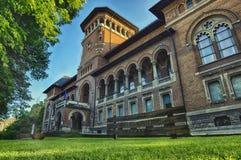 Det nationella museet av den rumänska bonden Royaltyfri Fotografi