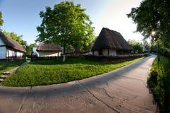 Det nationella museet av den rumänska bonden Arkivbild