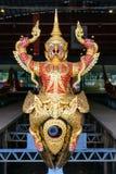 Det nationella museet av kungliga personen rusar in Bangkok Royaltyfria Bilder
