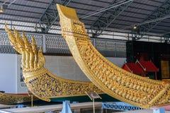 Det nationella museet av kungliga personen rusar in Bangkok Fotografering för Bildbyråer