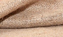 Det naturliga linnet texturerar för bakgrunden Royaltyfria Bilder