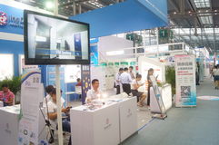 Det nionde utbytet och utställningen för APEC-SME-teknologi Royaltyfria Foton