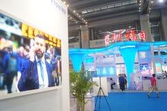 Det nionde utbytet och utställningen för APEC-SME-teknologi Royaltyfri Bild