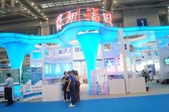Det nionde utbytet och utställningen för APEC-SME-teknologi Royaltyfria Bilder