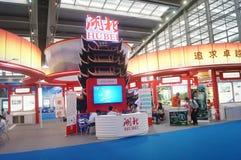Det nionde utbytet och utställningen för APEC-SME-teknologi Royaltyfri Foto