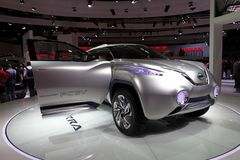 Det Nissan TeRRA SUV begreppet Royaltyfri Fotografi
