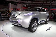 Det Nissan TeRRA SUV begreppet Arkivfoton