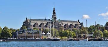 Det nordiska museet i Stockholm fotografering för bildbyråer