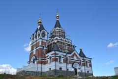 Det Novosibirsk området är arkitektur Arkivfoton