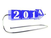 Det nya året är nära Royaltyfri Bild