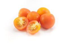 Det nya klippet för liten Asien tomat Royaltyfri Fotografi