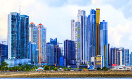 Det nya Panamaet City Arkivbild