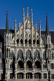 Det nya stadshuset av Munich Royaltyfri Foto