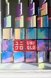 Det nya Tokyo lagret för Uniqlo SOHO i New York Royaltyfri Fotografi