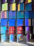 Det nya Tokyo lagret för Uniqlo SOHO i New York Arkivbild