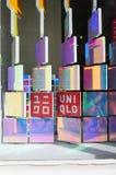 Det nya Tokyo lagret för Uniqlo SOHO i New York Arkivfoton