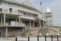 Det nya tornet på Hammond Stadium Royaltyfri Bild