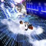 Det nyast teknologiinternet Royaltyfri Fotografi
