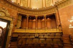 Det offentliga rummet i Cityhall av Barcelona Royaltyfri Fotografi