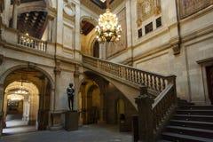 Det offentliga rummet i Cityhall av Barcelona Royaltyfri Foto