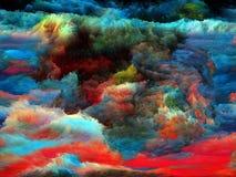 Det okändafractalen målar Arkivbilder
