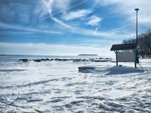 Det Onieda kustlänet parkerar Arkivfoton