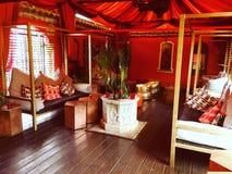 Det orange rummet Royaltyfri Fotografi