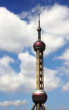 Det orientaliska pärlemorfärg tornet Royaltyfria Foton